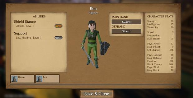 Character Editor (WIP)