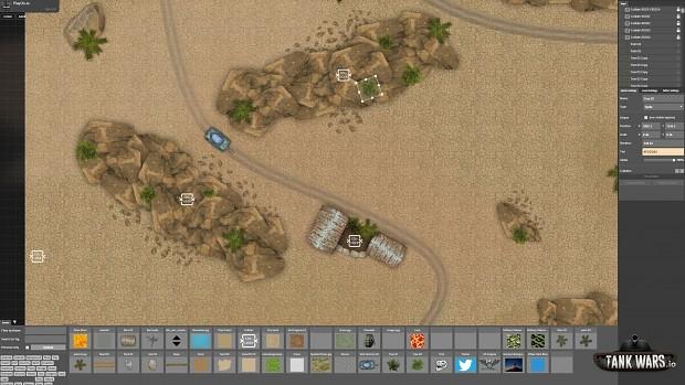 tankwars map editor screenshot 2