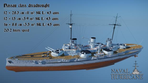Nassau class dreadnought
