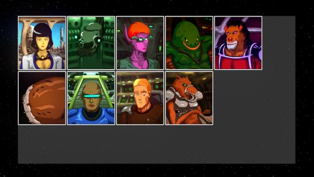 Characters WIP