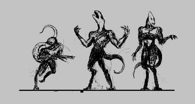 Carcharon early concepts