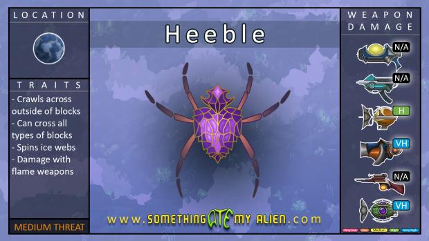 Aura enemies - Heeble