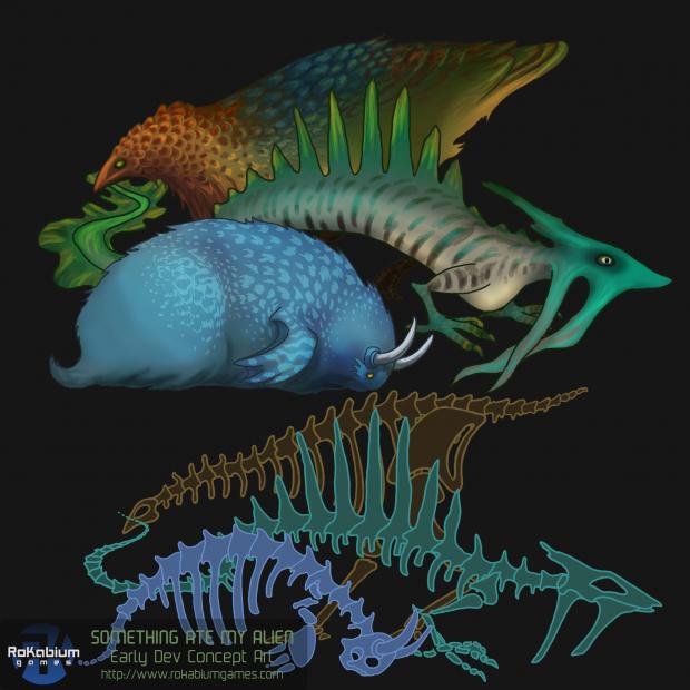 UI Fossil Concept Art