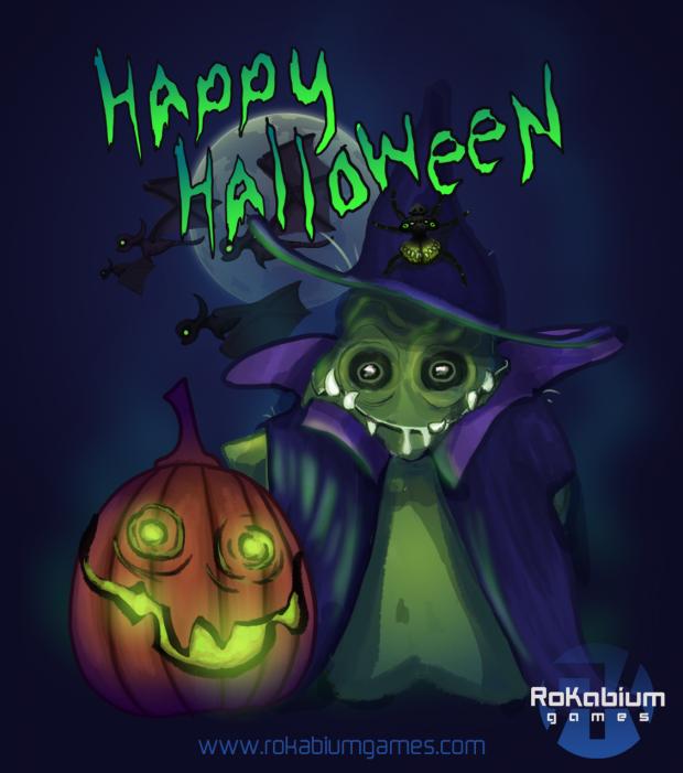 Happy Halloween from RoKabium Games