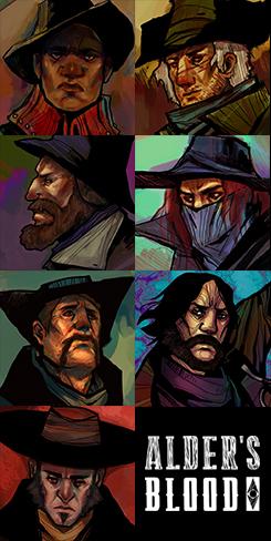 Hunters in Alder's Blood