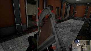 Zombie Panic! VR #test7 part2 _ Melee weapons