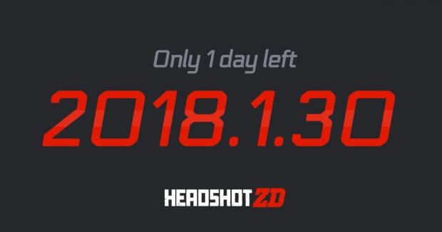 HeadshotZD 1 Day Left