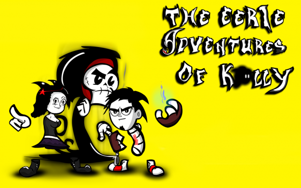 The Eerie Adventures Of Kally Characters