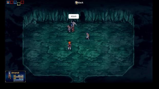 RPG MAKER MV: Wolf Kingdom Amarok Demo footage 05