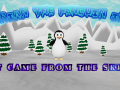 """Brian The Penguin in """"It came from the skies""""."""