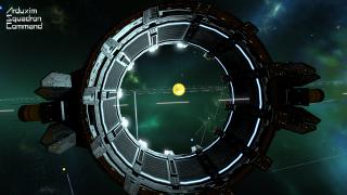 View through a sector gate