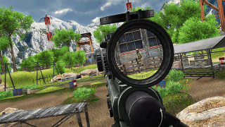 Sniper VR Rust Forest