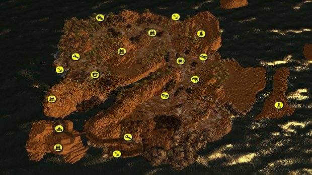 Triassic Zoo Test Map