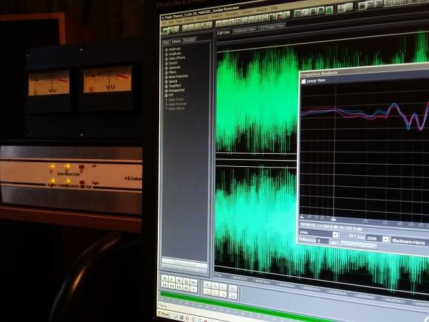 Soundtrack Mastering Session