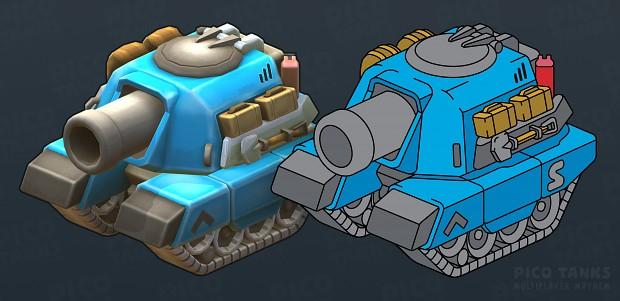 Pico Tank Vector Art