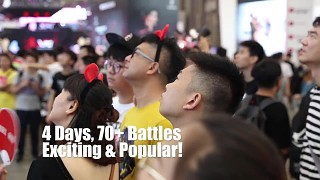 V of War ▏VR Battle Royale E-sport Competition In Shanghai Chinajoy