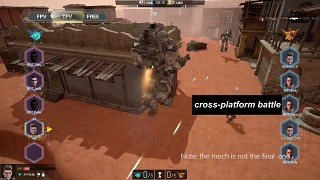 【V of War】Mech Mode gameplay PC vs.VR,who wins?(No