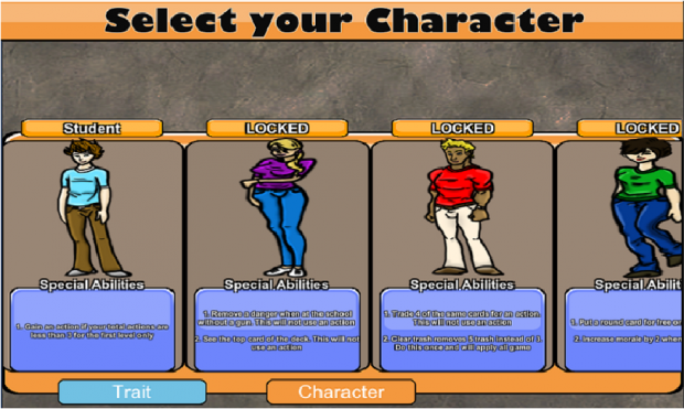 Character select screen 5