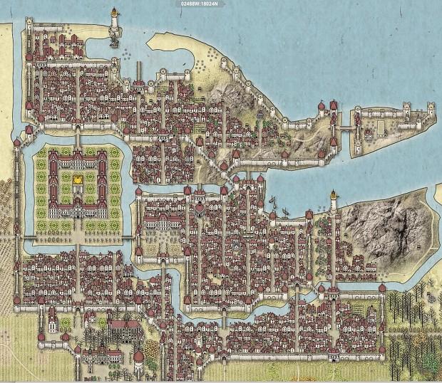 The ducal city of Alderaan