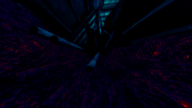 Tall hall, inside the underbelly of your mind