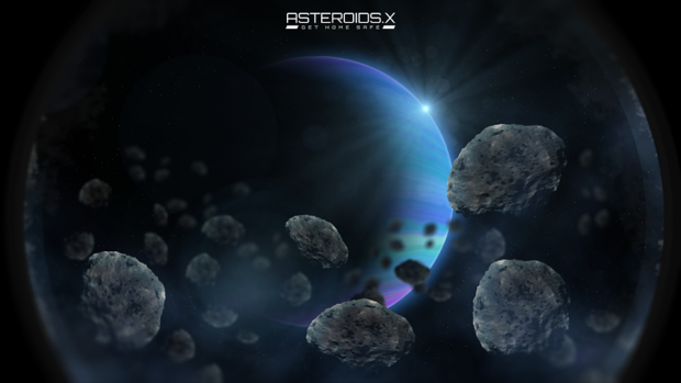 ConceptArt 01 - Asteroids.X - BrowserGame