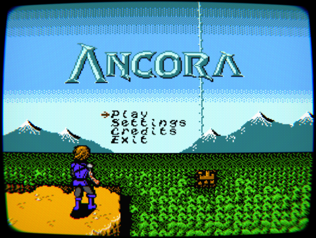 Ancora Title Screen