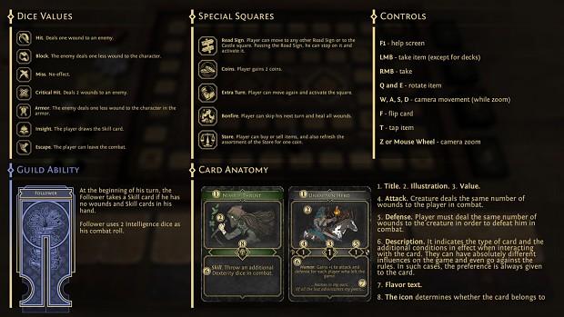 Update #2 - Revamped Help Screen