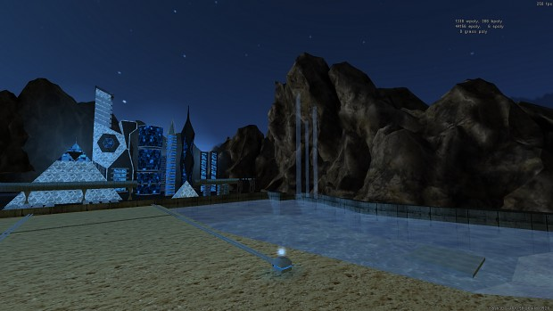 Skybox background for the final map of the chapter IV.