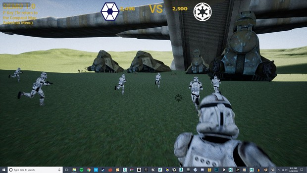 CIS Invasion of Naboo - Frontlines Demo Screens V2