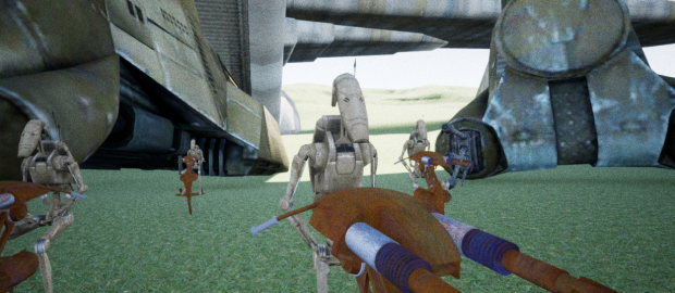 STAPS (Invasion Of Naboo Pictures)
