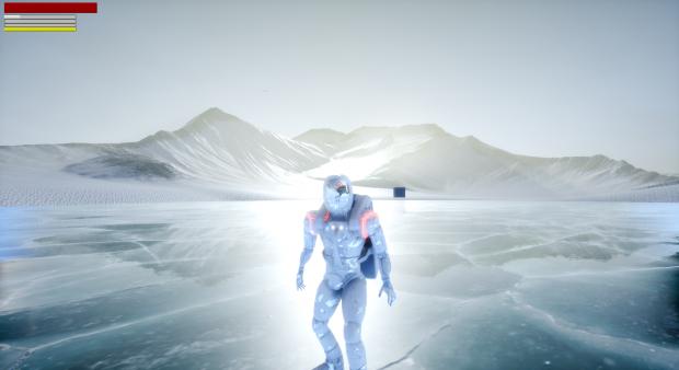 marte lago congelado