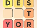 Destroy Letters - The Word Scramble Hunt