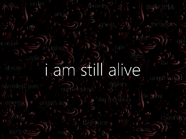 I Am Still Alive