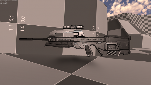 The Coral Battle Rifle image - Coral: A Halo Fan Game - Indie DB