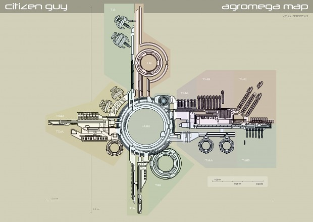 Citizen Guy Agromega Space Station Map