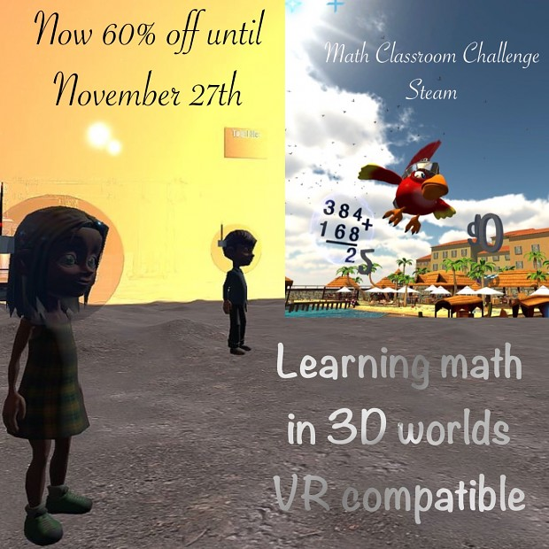 Black friday comes to Math Classroom Challenge