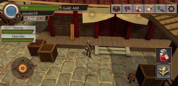 Kaze village in game