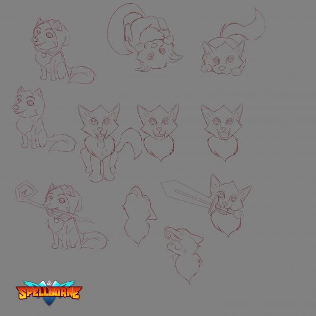 Game Mascot Concept