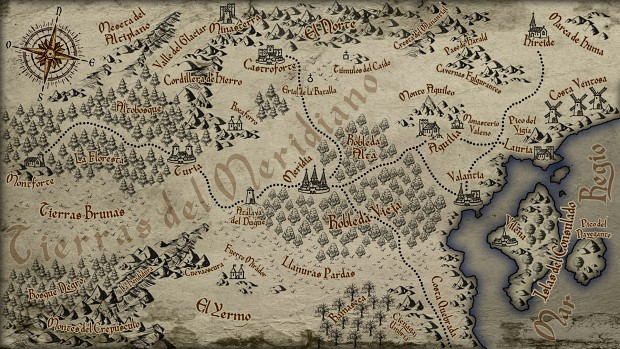 Battle Banners campaign map