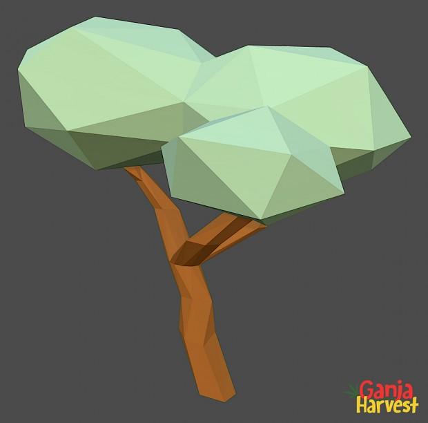 Ganja Harvest Tree Model