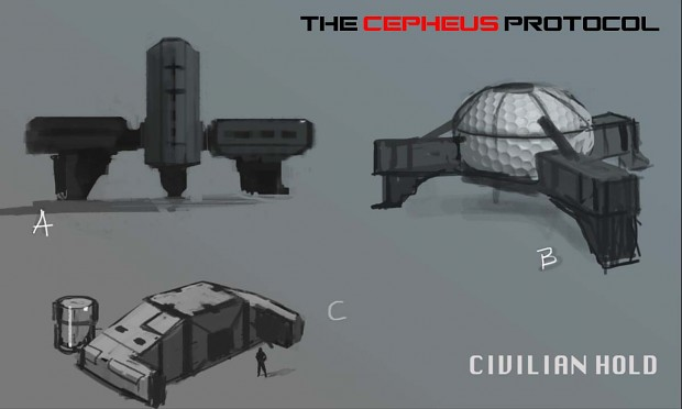 Civilian holding Area Player Structure