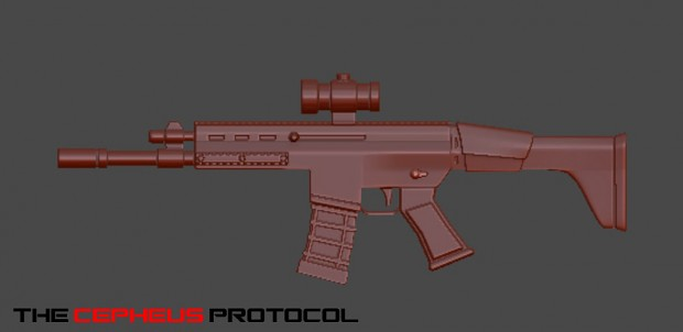 Scar L Weapon High Poly