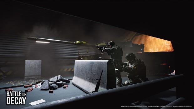 Military Base Tunnel - Demo 2