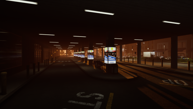 Central Square Shopping Center - Bus Stop