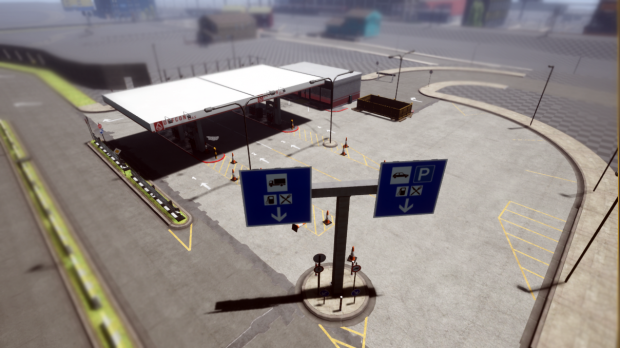 Lootable Gas Station (Tankstelle) WIP
