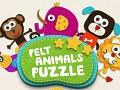 Felt Animals Puzzle