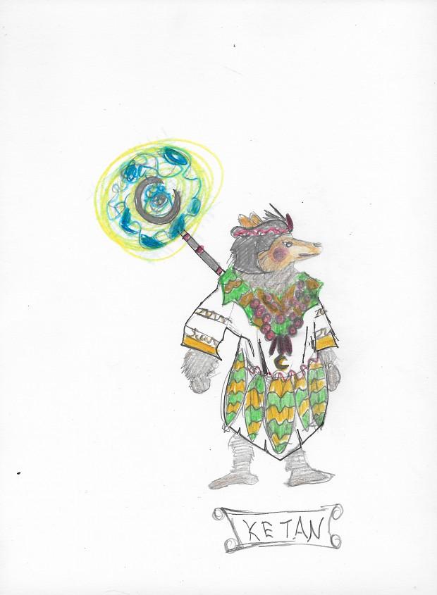 Ketan Warrior Design #1