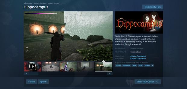 Hippocampus' Steam Page