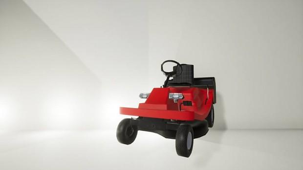 Minirider tractor in gardener simulator