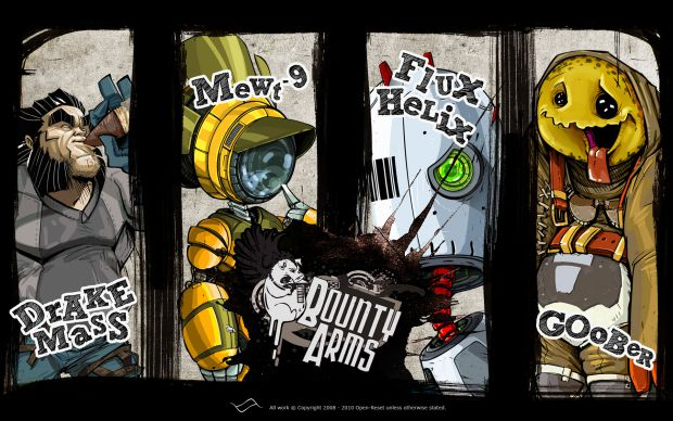 Bounty Arms Character Group Banner